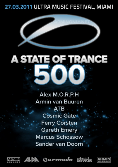 ASOT500 Day 2 Miami - Live from Ultra Music Festival