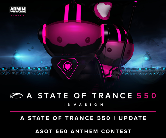 A State Of Trance 550 CD1 - Mixed By Armin van Buuren